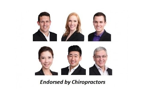 Endorasted by Chiropractors